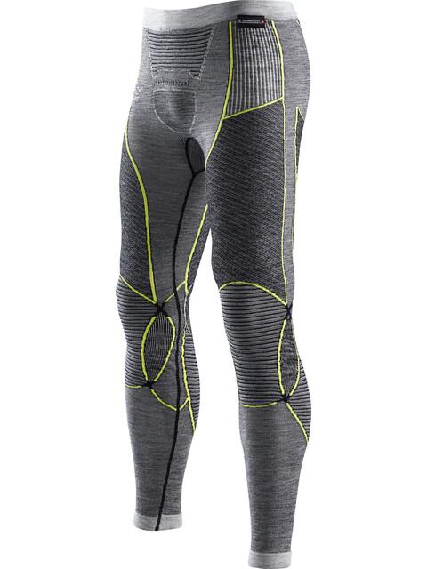 X-Bionic Apani Merino By Fastflow Long Pants Men Black/Grey/Yellow